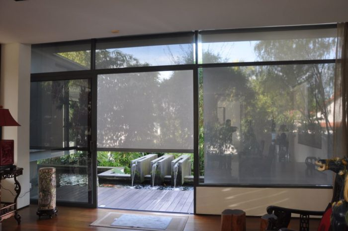 PRODUCT: MOTORISED OUTDOOR BLIND